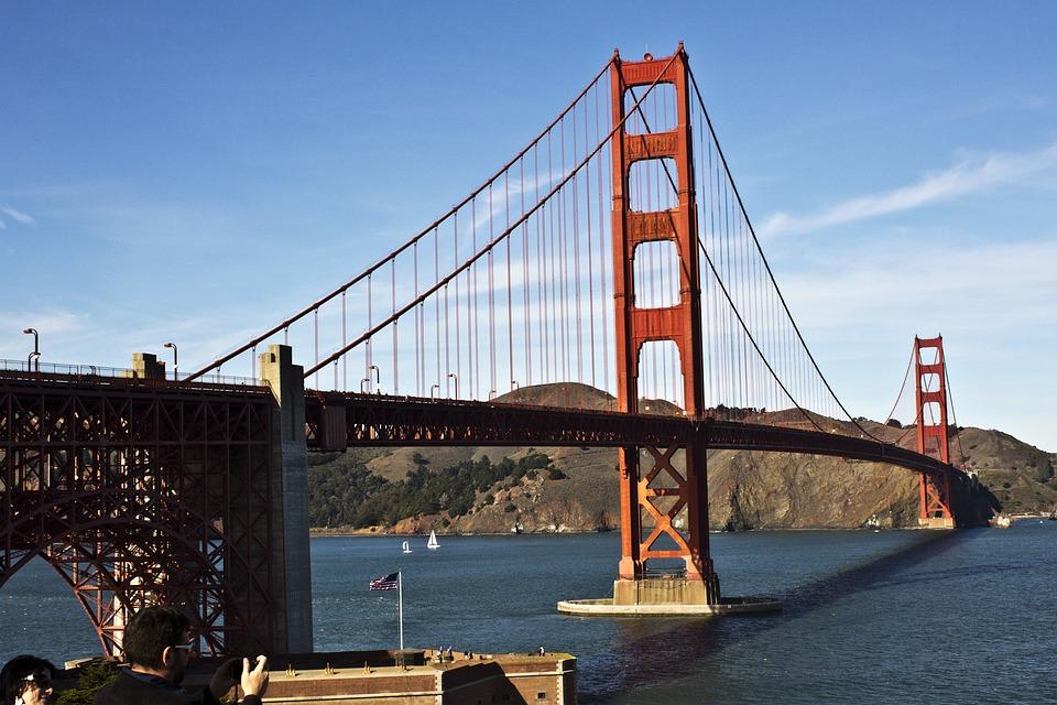 Bridge, Golden Gate, San Francisco, Golden Gate Bridge