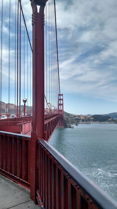 Bridge, Golden Gate, Golden Gate Bridge, Francisco, San