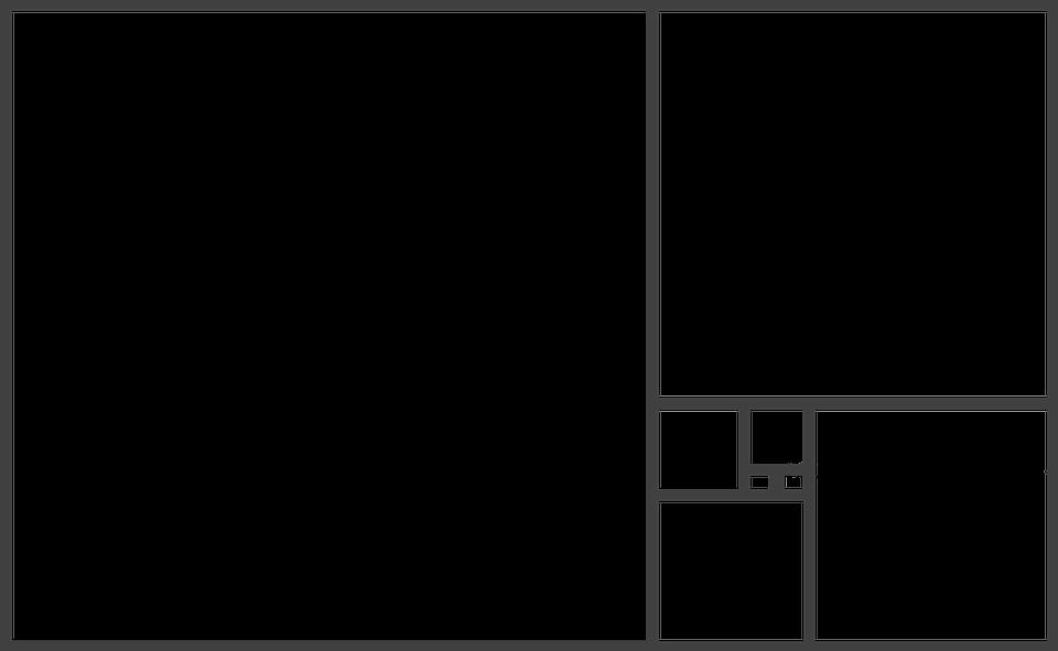 Fibonacci, Golden Ratio, Template, Repetition, Pattern
