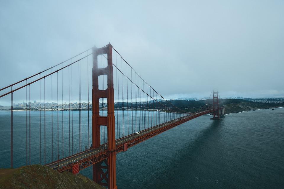 San Francisco, Golden Gate Bridge, Bridge, Gate, Golden