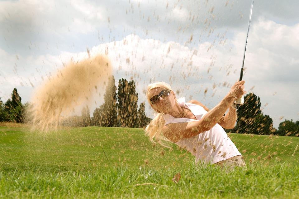 Golf, Golfer, Tee, Golf Clubs, Cool, Sport, Action