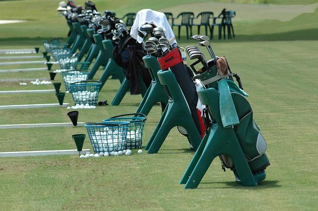 Golf Clubs, Golf Bags, Driving Range, Golf School