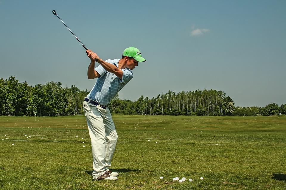 Golf, Golf Swing, Golfers, Driving Range, Exercise