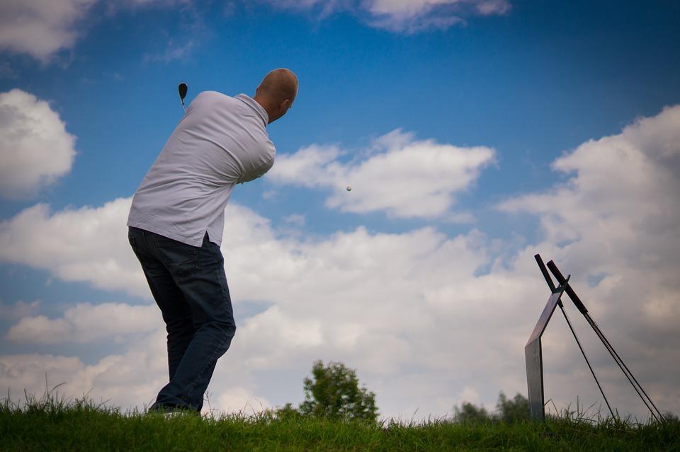 Golf, Golfing, Golfer, Putting, Sport, Game, Grass