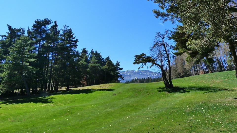 Landscape, Nature, Golf, Sport, Golf Plateau Bayard