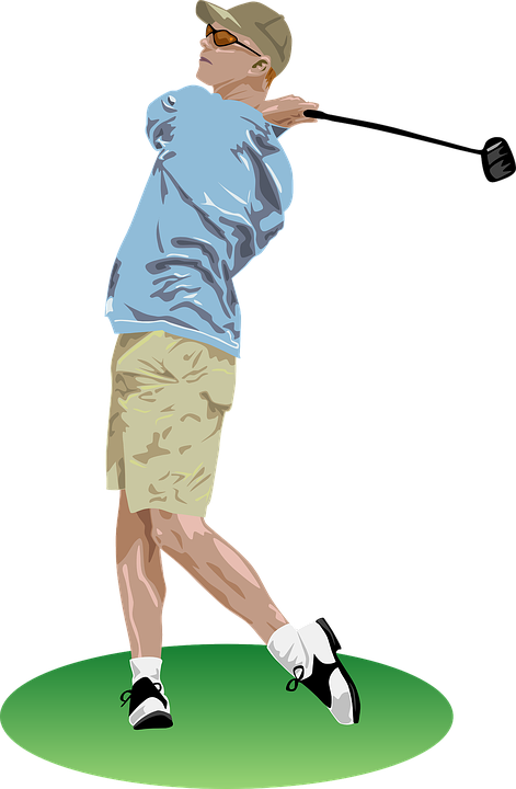 Golf, Golfer, Playing, Player, Sports, Man, Golfing