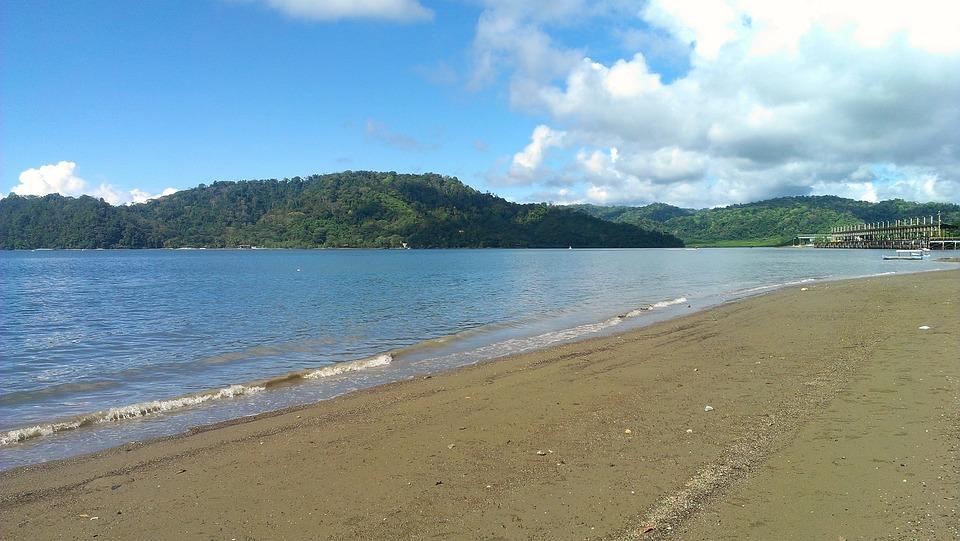 Puerto Jimenez Route, Golfito, Costa Rica, Ocean, Sea