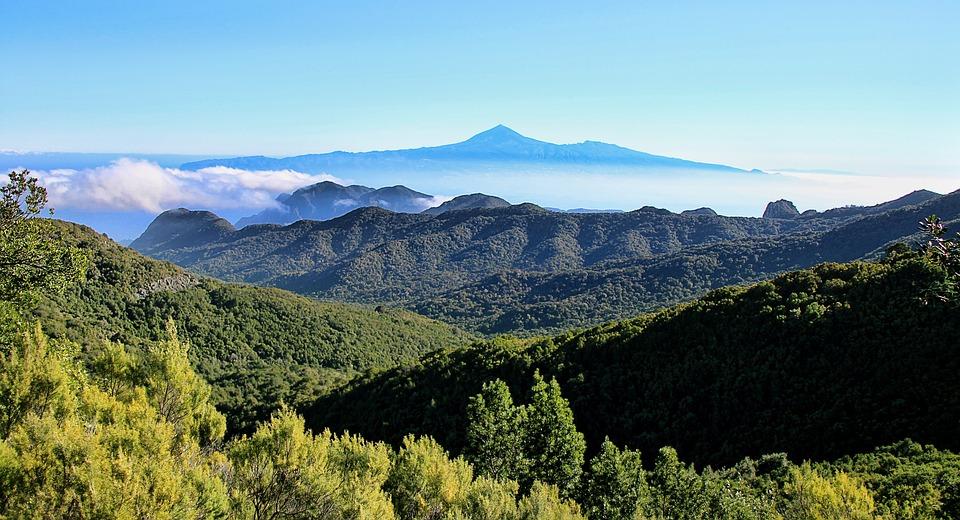Gomera, Teide, Tenerife, Canary Islands, Nature