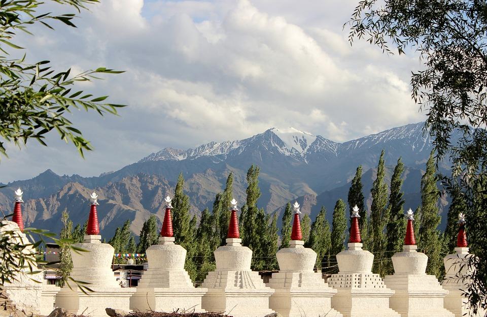 India, Ladakh, Himalaje, Monastery, Gompa