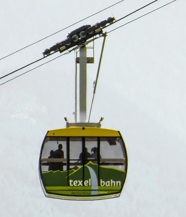 Gondola, Mountain, Cable Car, Mountain Railway