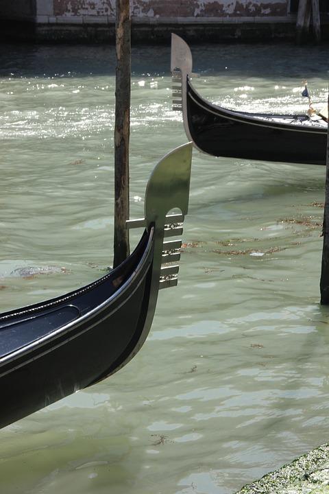 Venice, Gondola, Boats, National Emblem
