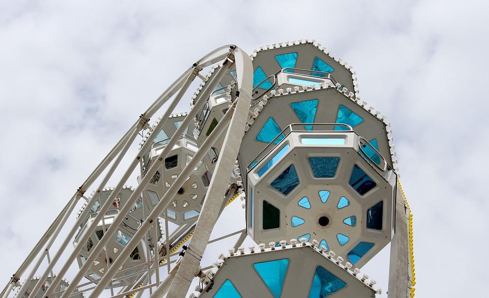 Ferris Wheel, Gondola, Ride, Festival Site, Year Market