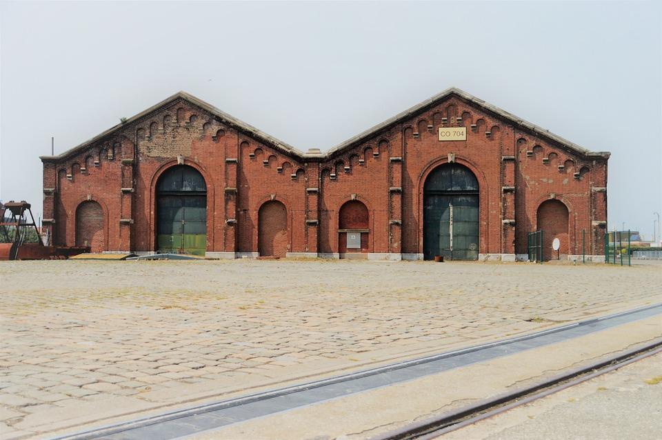 Hangar, Shelter, Stock, Goods, Market, Warehouse