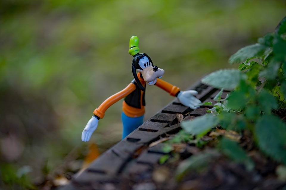 Disney, Autumn, Goofy, Still Life, Season, Forest