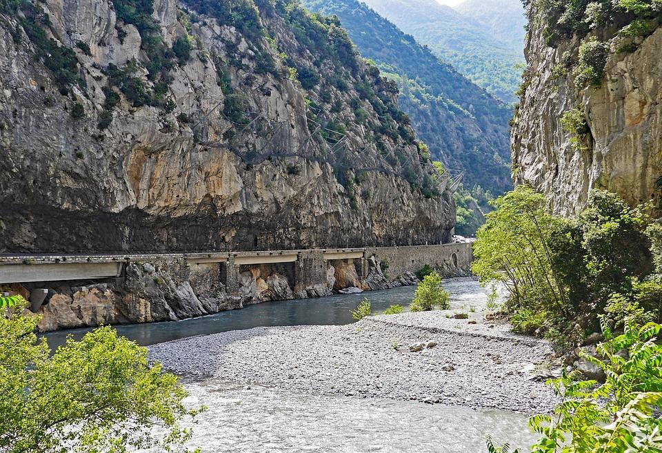 Maritime Alps, Gorge, Le Var, South Of France