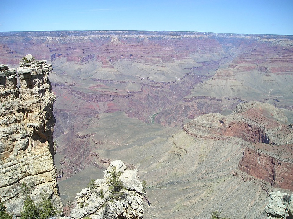 Usa, Grand Canyon, Canyon, Gorge, Deep, National Parks