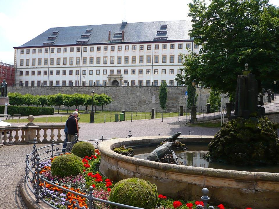 Gotha, Friedenstein Castle, Before Wasserkunst Gotha