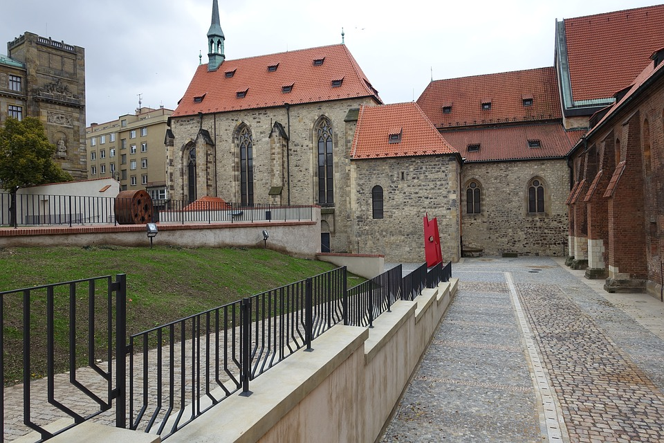 Monastery, Gothic, Architecture, Medieval, Europe