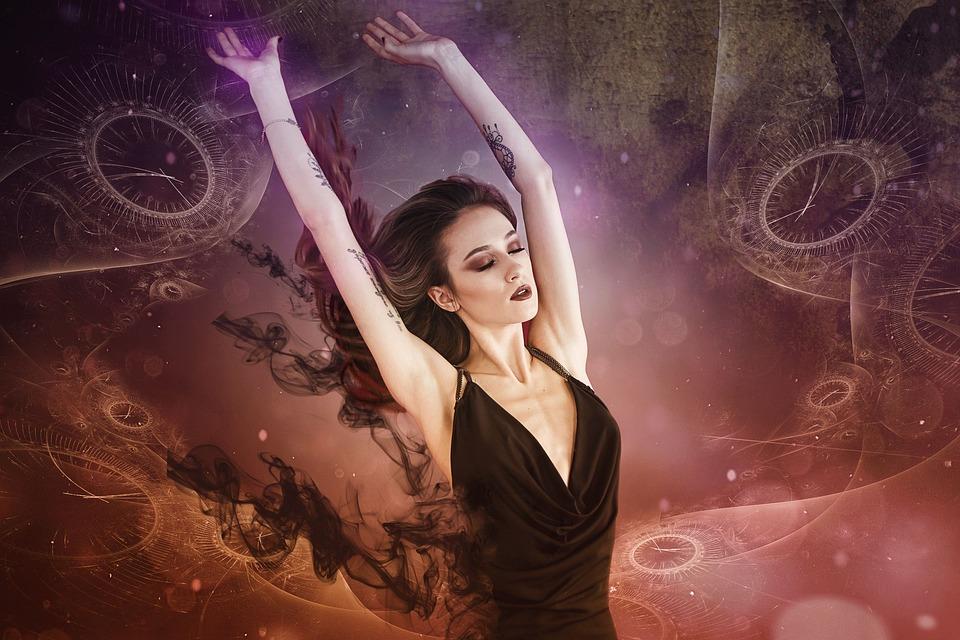 Astral Traveler, Gothic, Goth, Fantasy, Dark, Woman