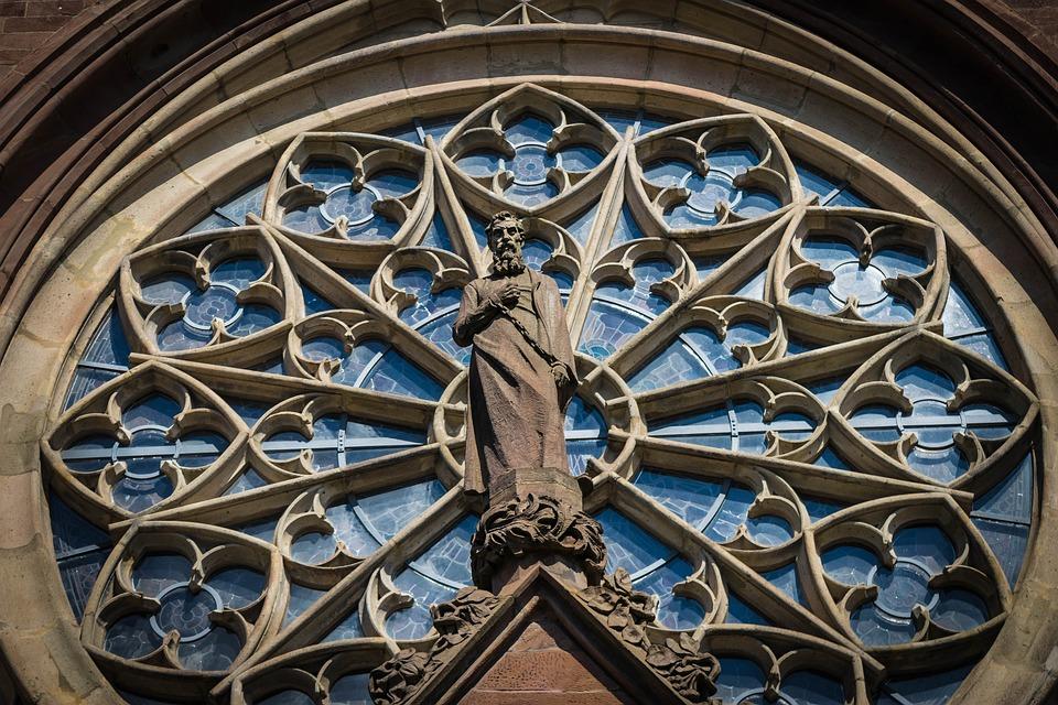 Window Gothic Church Historically