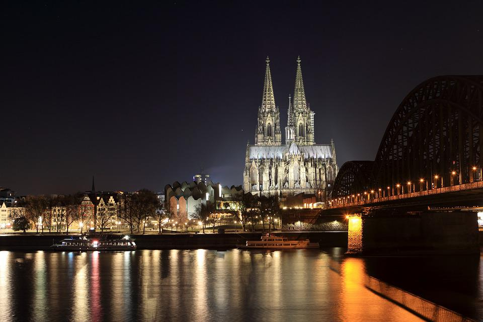 Cologne Cathedral, Dom, Landmark, Evening, Gothic