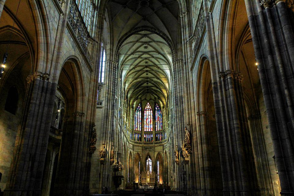 Cathedral, Architecture, Religion, Gothic Language