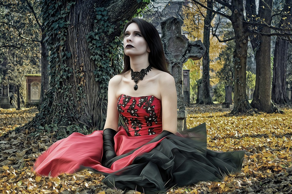 Woman, Female, Beauty, Model, Gothic, Gothic Model