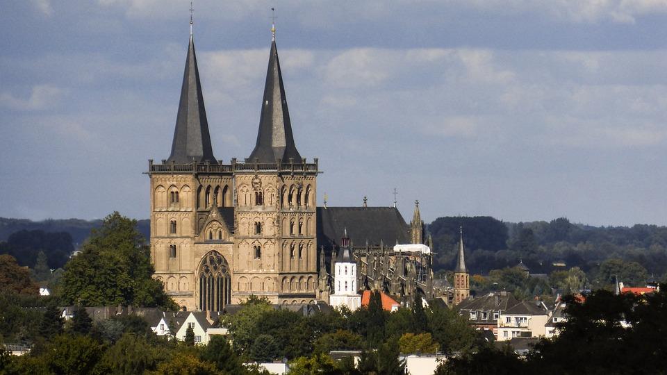Xanten, Niederrhein, Dom, Gothic, Cloister