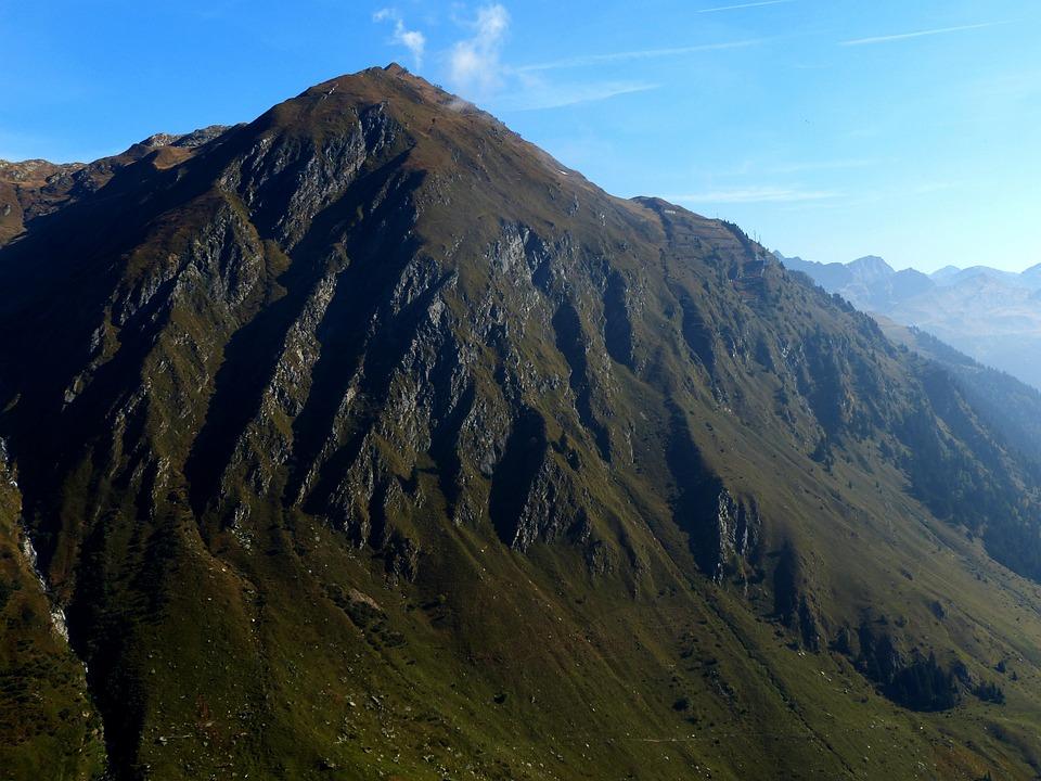 Gotthard Pass, View, Alpine