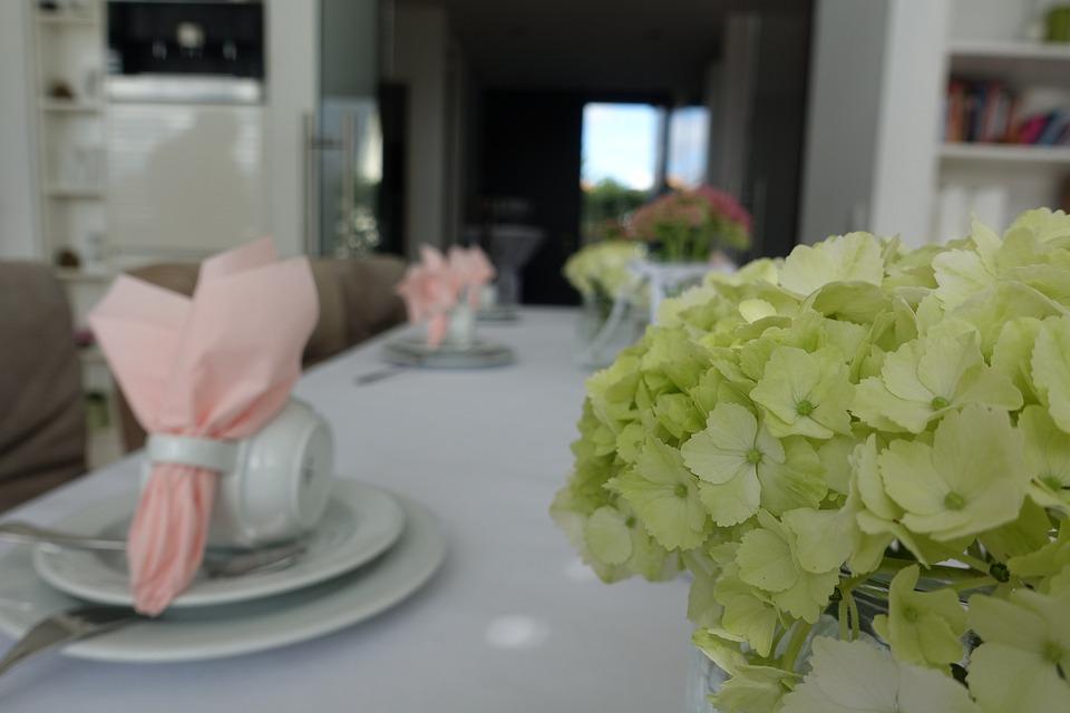Eat, Gourmet, Buffet, Table Decoration