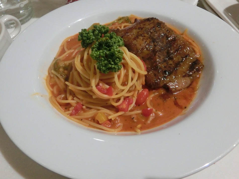 Spaghetti, Red Sauce, Gourmet