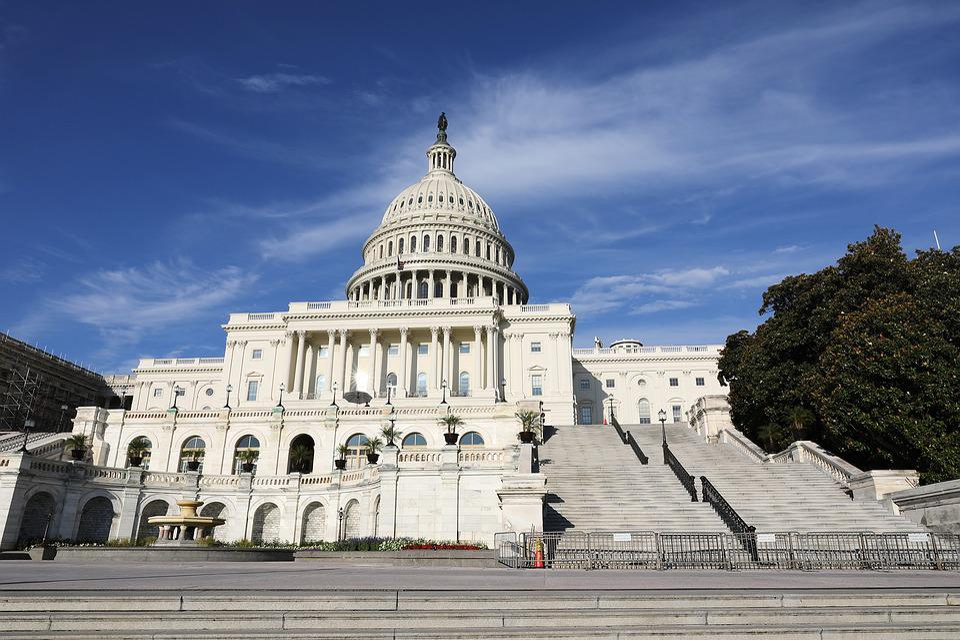 Capital Hill, Dc, White House, Washington, Government