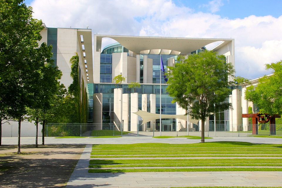 Berlin, Chancellery, Space, Government District