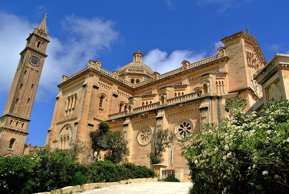 Ta' Pinu, Malta, Gozo, Cathedral, Basilica, Catholic