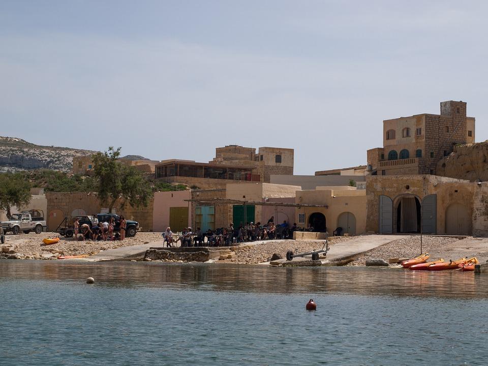 Gozo, Sea, Village