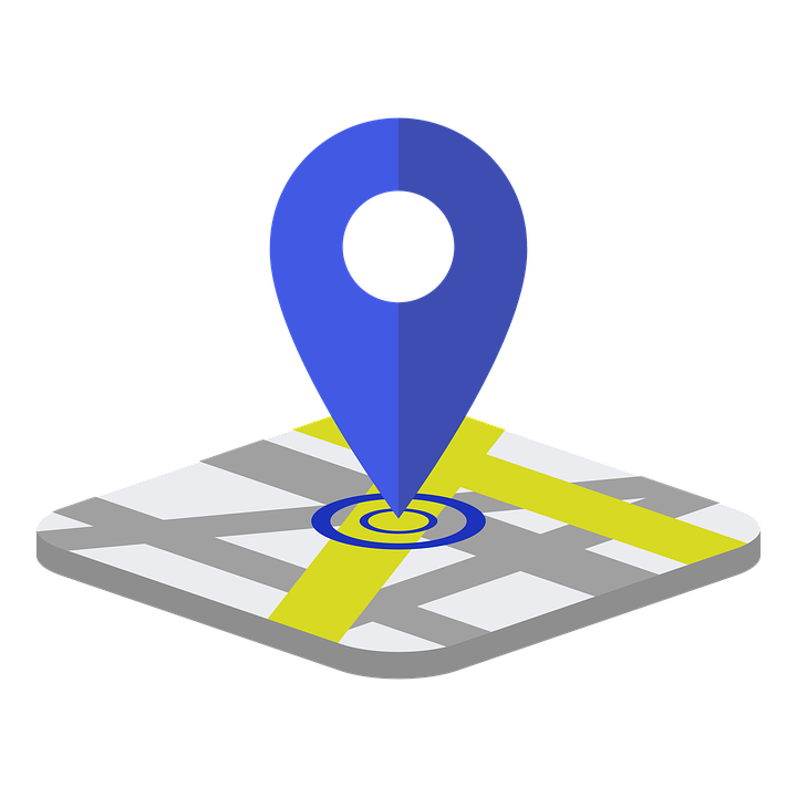 Gps, Color, Locator, Map, Online, Technology, Icon