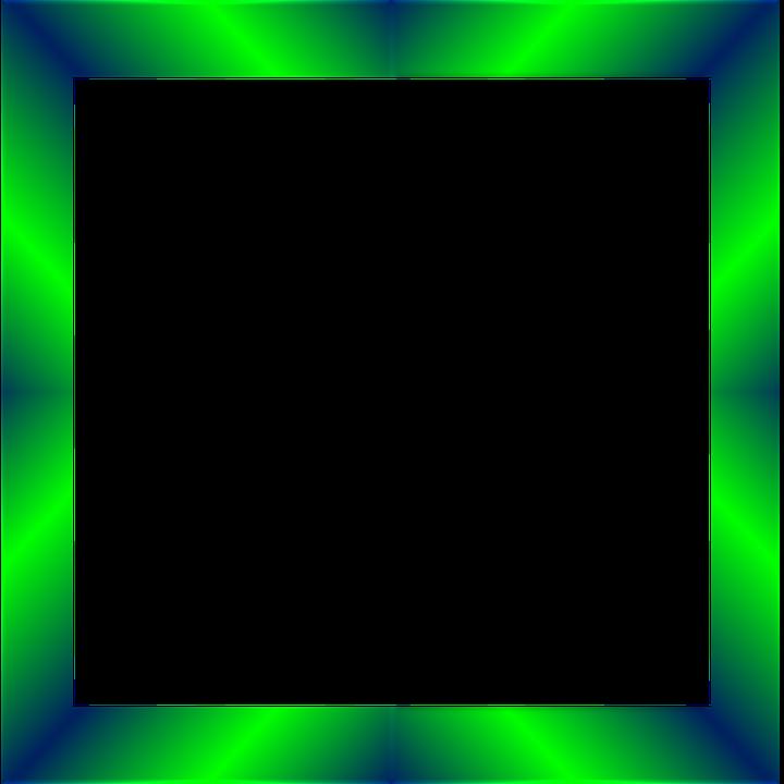 Emerald, Frame, Border, Shine, Gradient, Sheen, Shiny