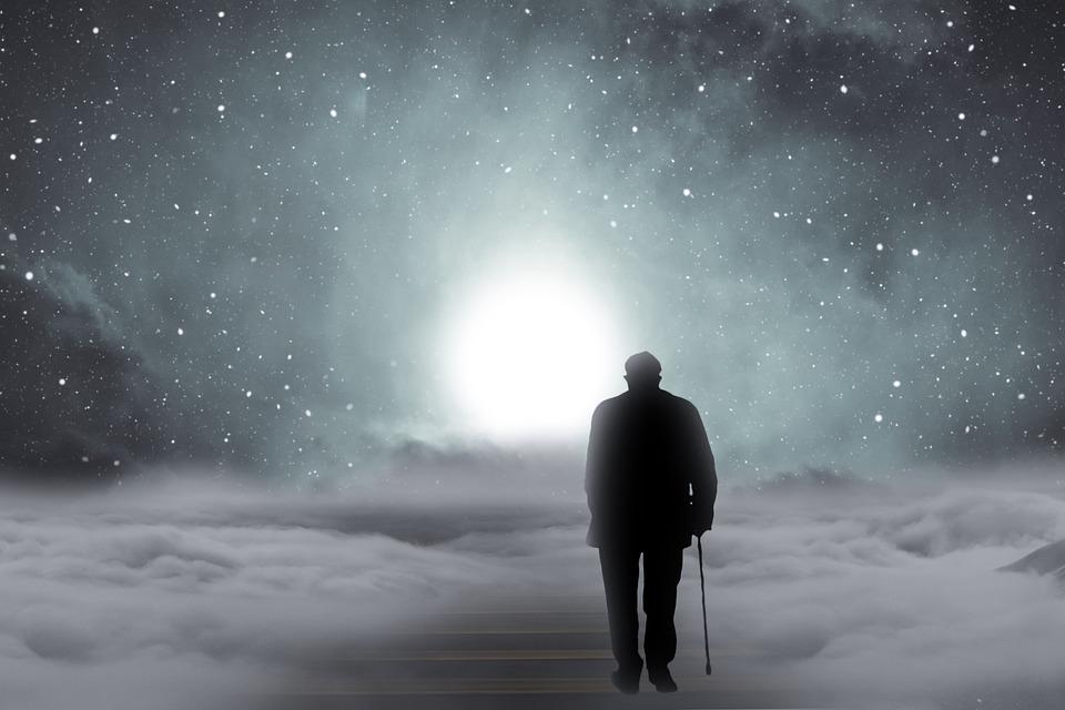 Say Goodbye, Old Man, Man, Away, Stairs, Gradually