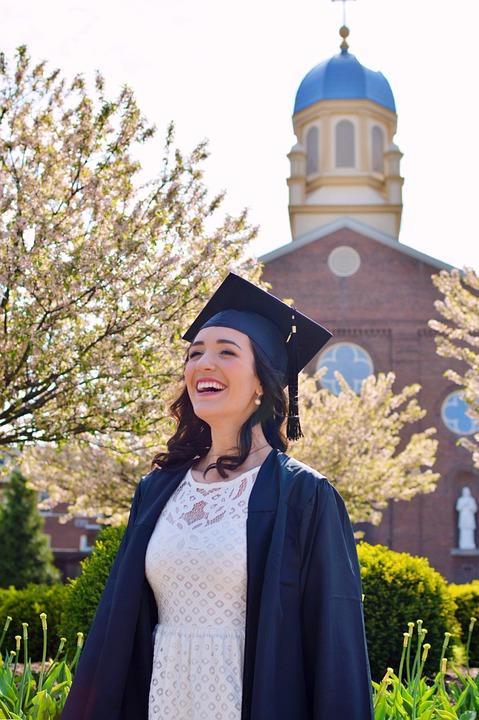 Graduation, Graduate, Education, Diploma, College