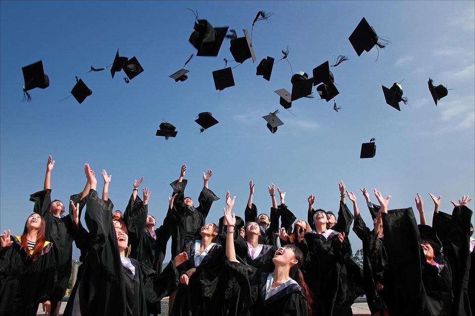 University Student, Graduation Photo, Hats