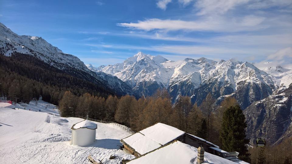 Grächen Hannigalp, Winter, Ski Run, Snow, Winter Sports