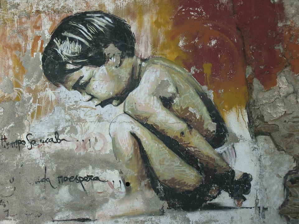 Graffiti, Little Boy, Granada, Art