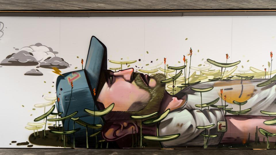 Free photo Graffiti Decoration Wall Painted Art Human Figure - Max Pixel