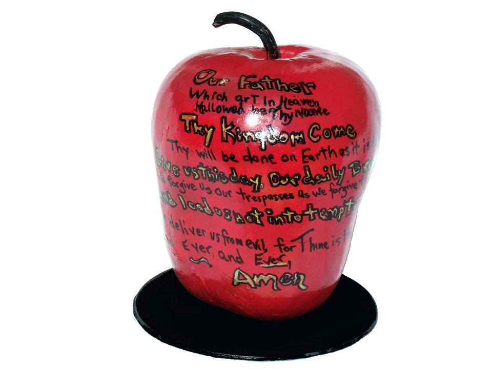 Apple, Fruit, Food, Healthy, Graffiti, Design
