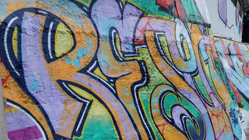 Graffiti, Font, Art