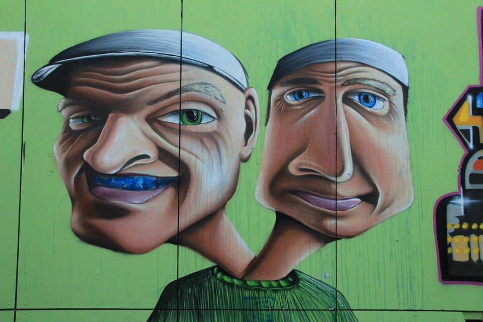 Graffiti, Hydra, Green Boys