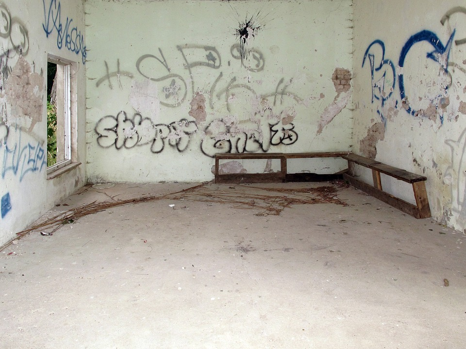 Leave, Graffiti, Lost Places, Decay, Forget, Pforphoto
