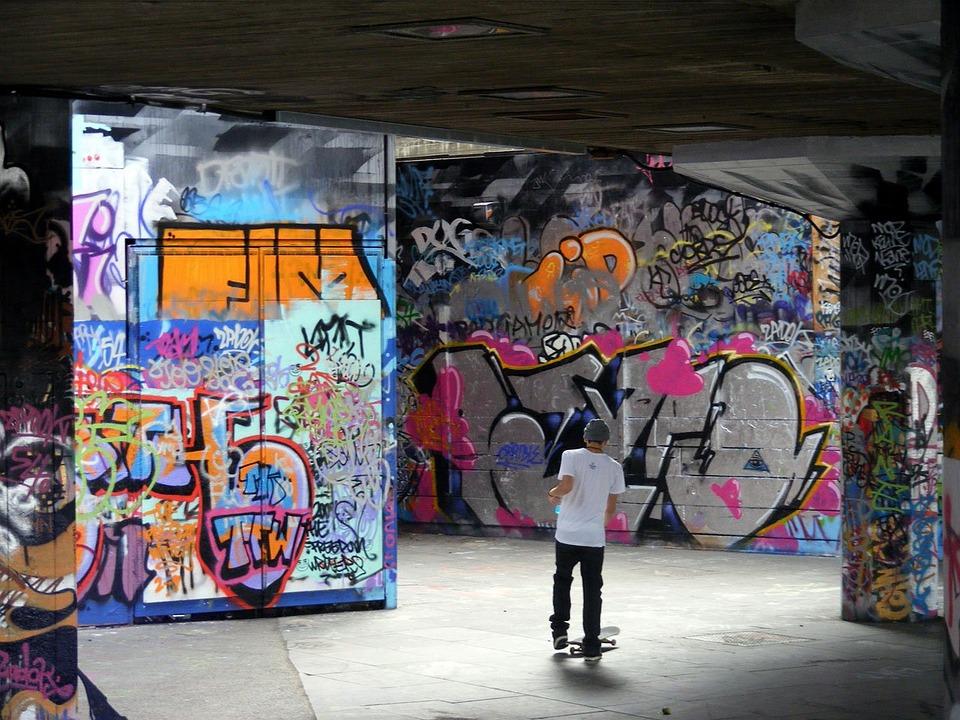 Graffiti, Art, Painted, Walls, Urban, Artistic, Public