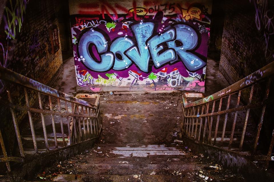 Graffiti, Lost Places, Pforphoto, Abandoned, Ruin