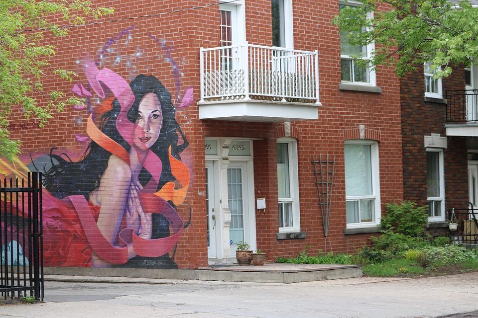 Street, Graffitit, Graffiti, Wall, City, Frescoes